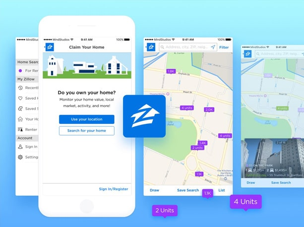 Zillow Map Real Estate on